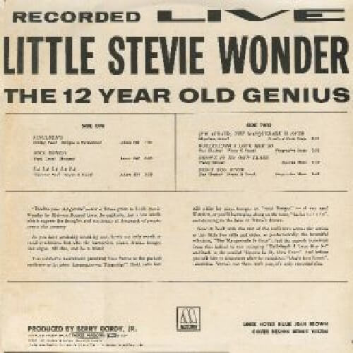 Primera etapa: Little Stevie Wonder