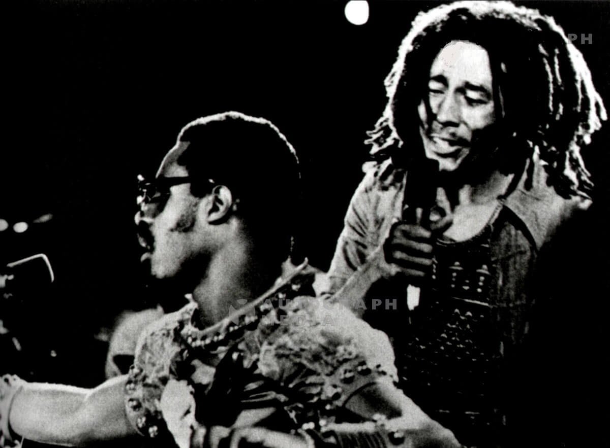 Bob Marley, Stevie Wonder