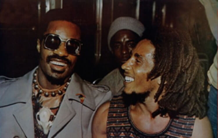 Bob Marley & Stevie Wonder