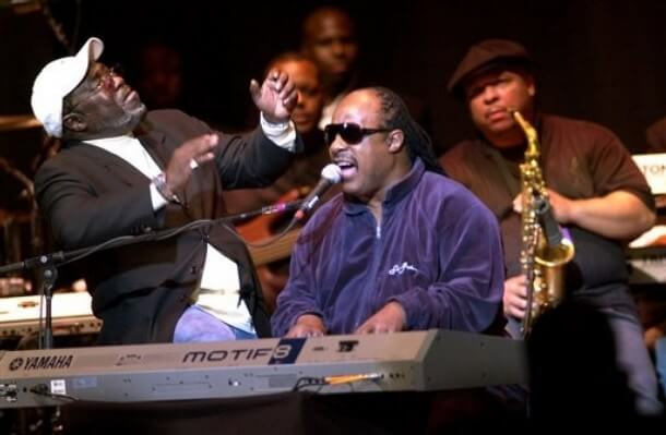 Stevie Wonder recordando a Gerald Levert