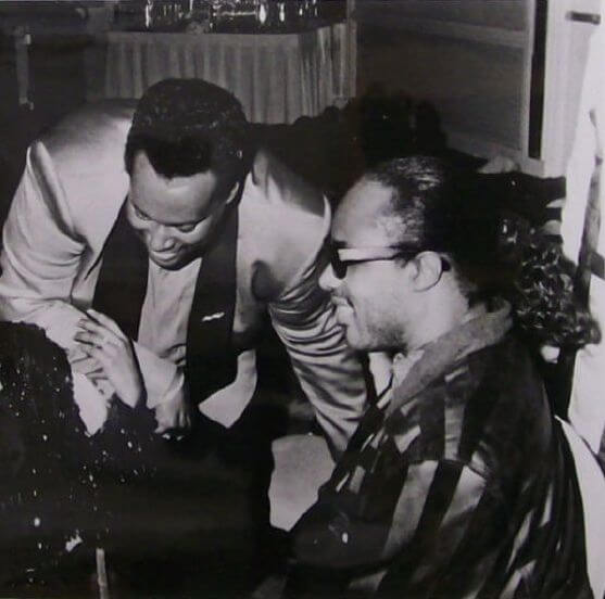 Luther Vandross & stevie Wonder