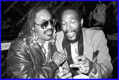 Marvin Gaye & Stevie Wonder