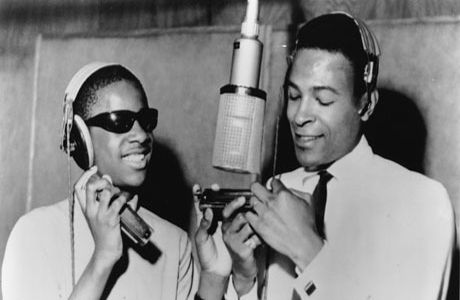 Marvin Gaye & stevie Wonder, 1965