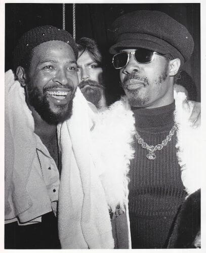 Marvin Gaye & Stevie Wonder, vidas coincidentes