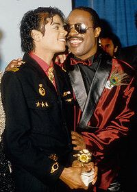 Michael Jackson & Stevie Wonder, Friendship and shared prizes