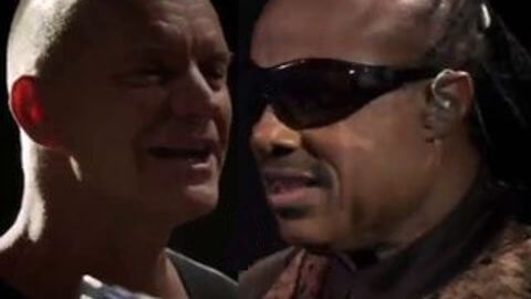 Sting & Stevie Wonder