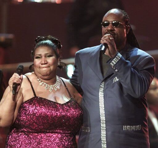 Aretha Franklin & Stevie Wonder