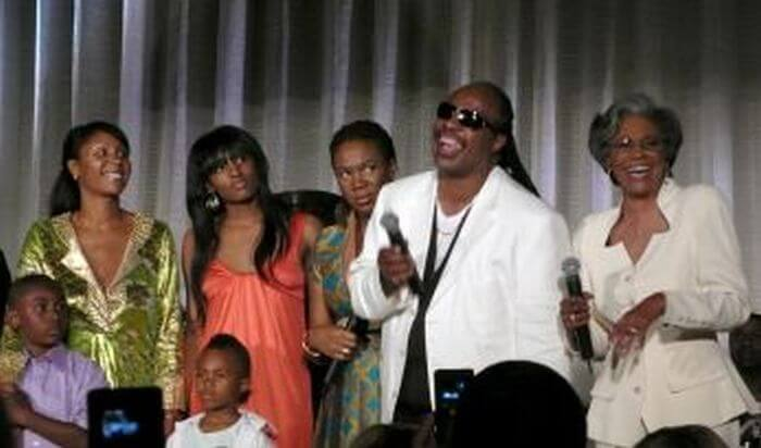 Stevie Wonder's family