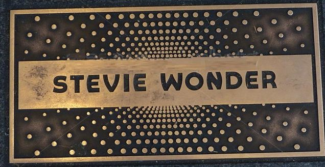 Signadure Stevie Wonder